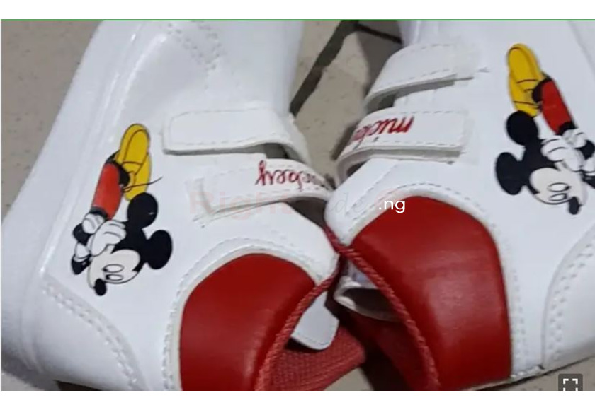 Quality Mickey Mouse Sneakers - 1