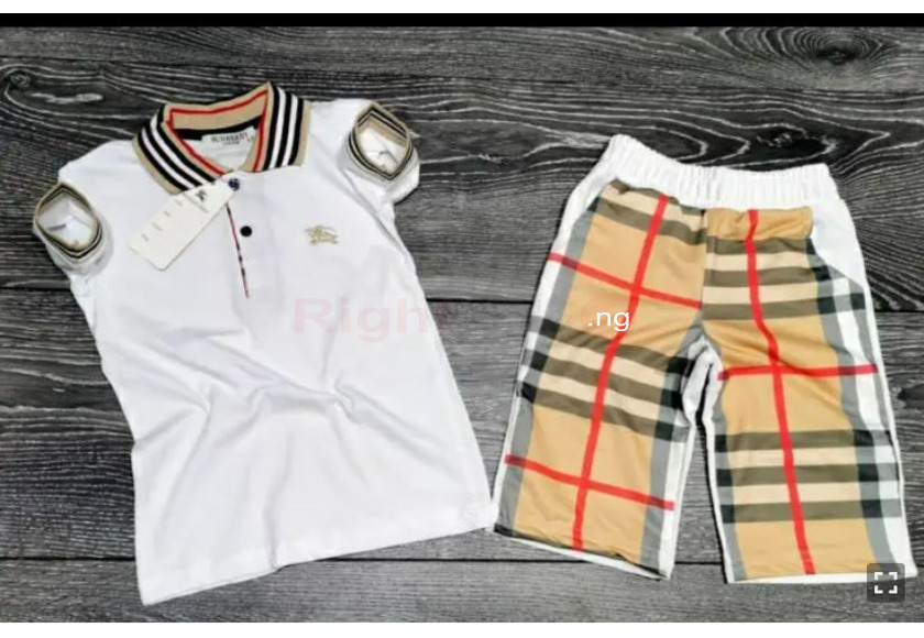 New Quality Burberry Top and Short - 1