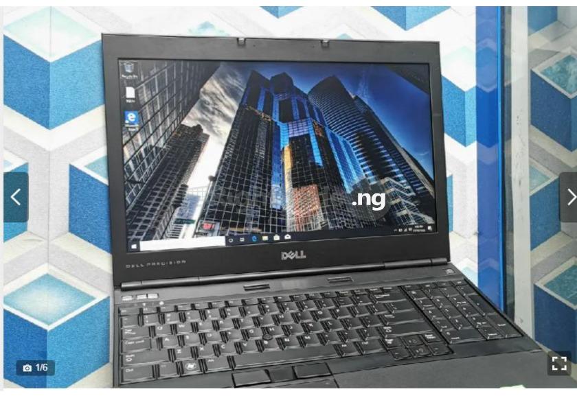 Laptop Dell Precision M4600 8GB Intel Core i7 HDD 640GB - 1