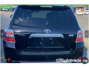 Toyota Highlander 2009 Hybrid Limited Black - Image 1